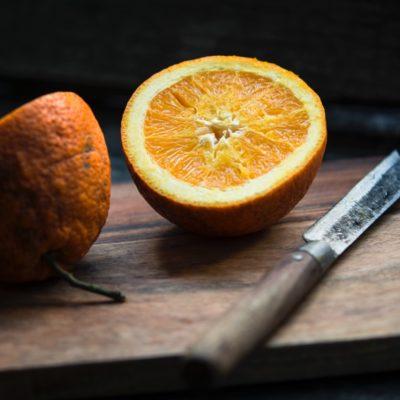 Delad apelsin